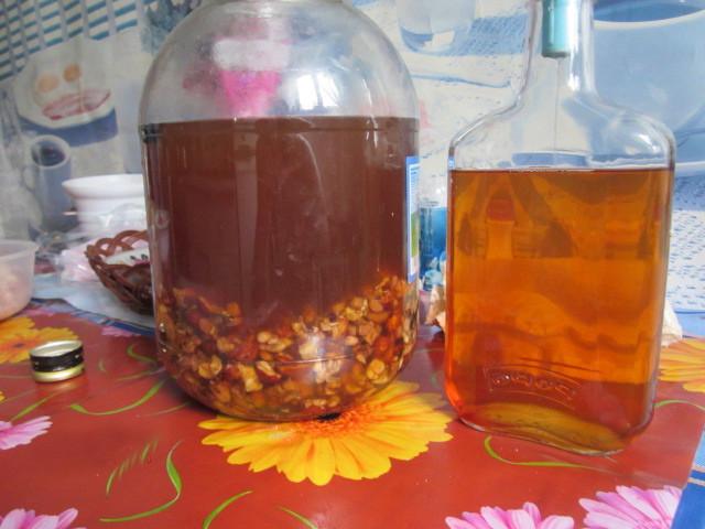 Как сделать настойку на водке на кедровых орешках на